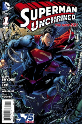 SupermanUnchained-issue1-cover