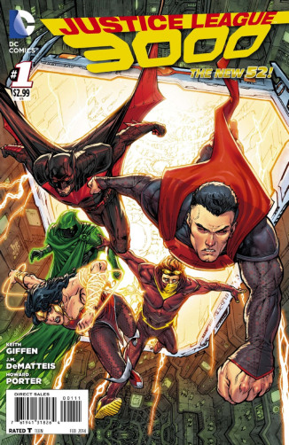 JusticeLeague3000-No1-cover