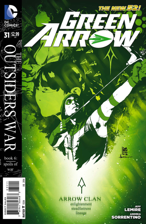 GreenArrow-No31--COVER