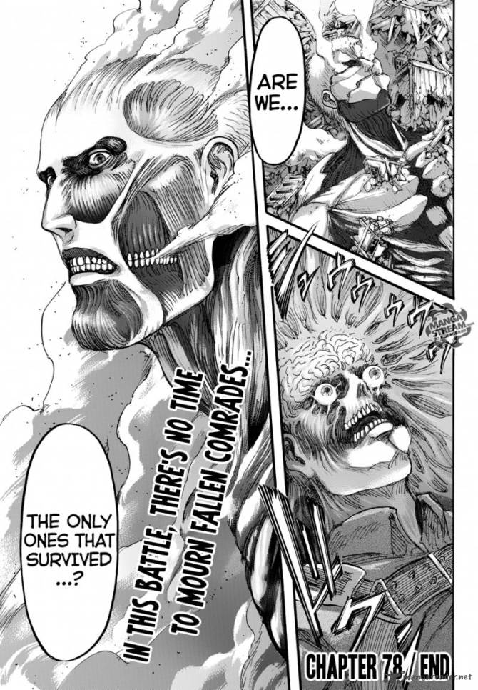 Review Attack On Titan Ch 78 Bag Bored